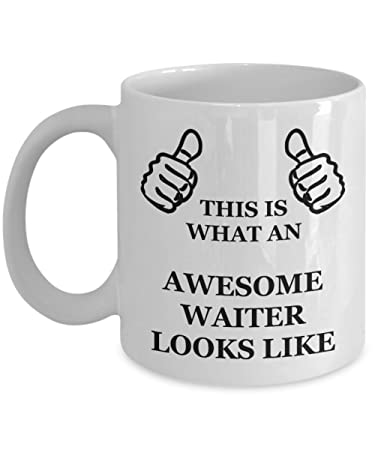 Amazon Com Funny Birthday Gifts For Waiter Husband Dad Friend