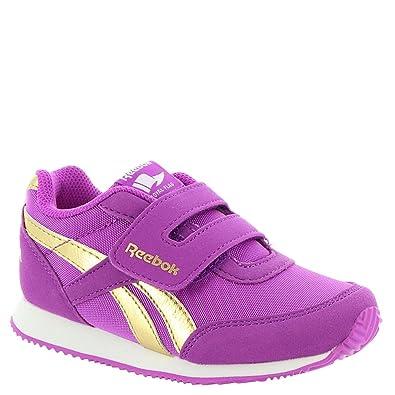 2573979e88c9 Reebok Kids Baby Girl s Royal CL Jogger 2RS KC (Toddler) Vicious Violet Gold