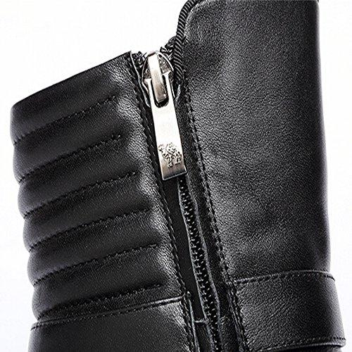 Chameau Femmes Haut Talon Cheville Bottes Couleur Noir Taille 39 M Eu
