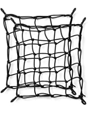 Lixada 1 PCS / 2 PCS SUP Cargo Net Deck Storage Mesh Net Paddle Board Cargo Bungee Net with Hooks