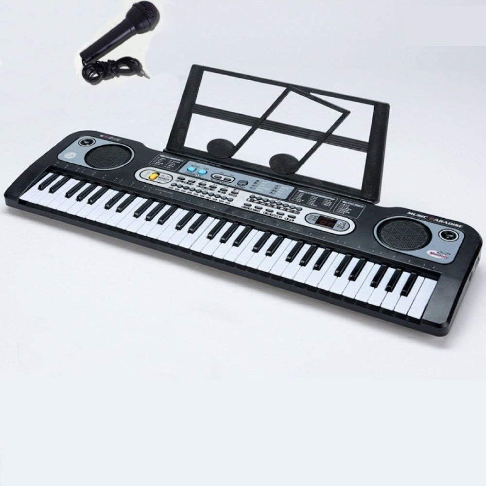 Juguete de piano electrónico, teclado de 61 teclas con ...