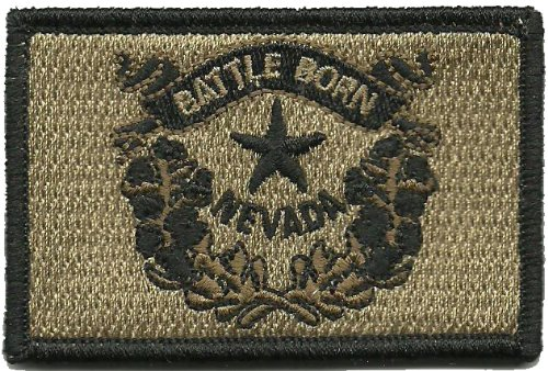 Tactical State Patch - Nevada (Coyote Tan)