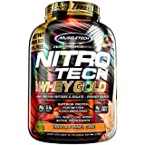Cheap MuscleTech NitroTech Whey Gold, 100% Whey Protein Powder, Whey Isolate and Whey Peptides, Vanilla Funnel Cake, 5.5 Pound