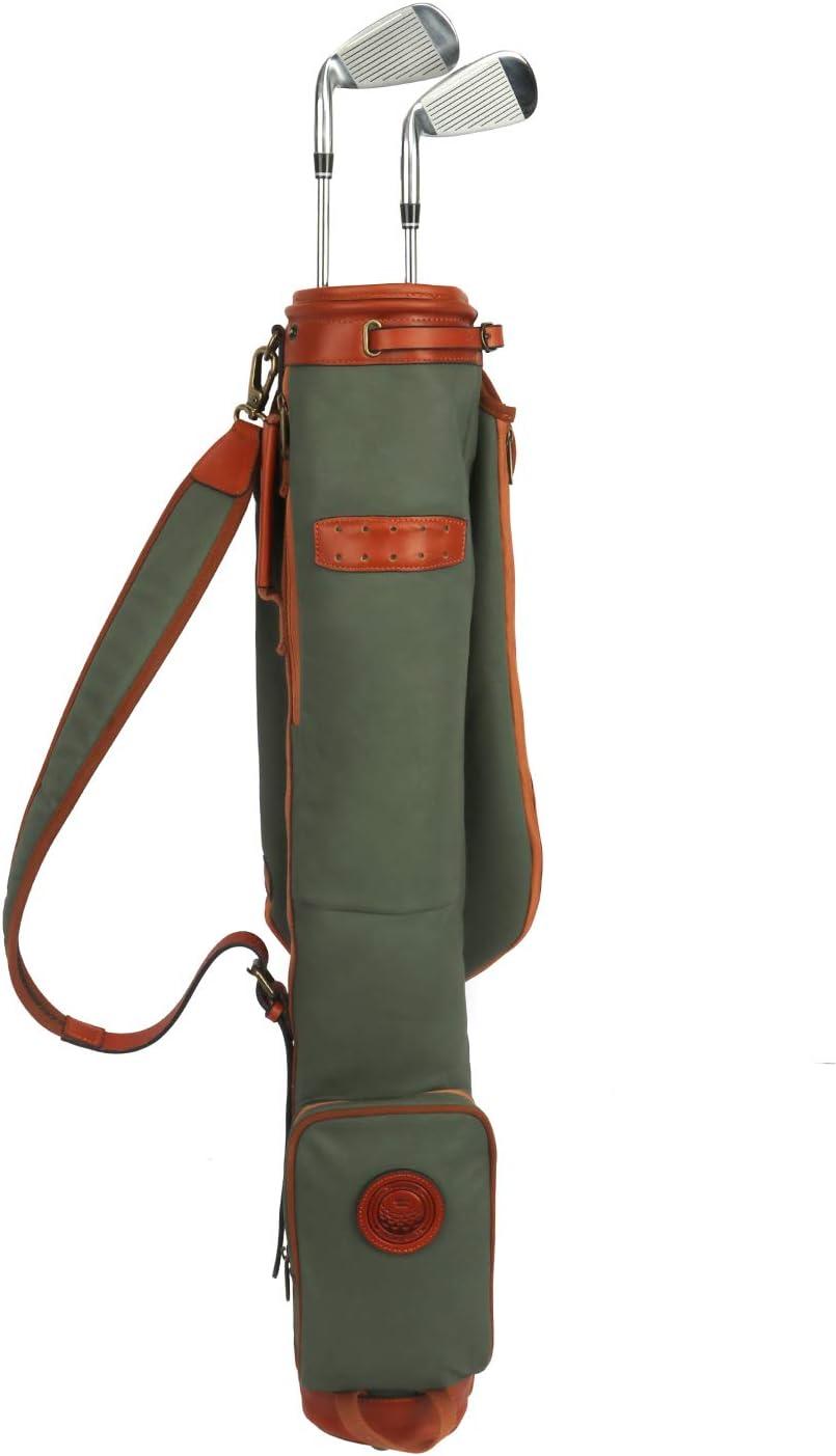 TOURBON Vintage Golf Club Carry Bag