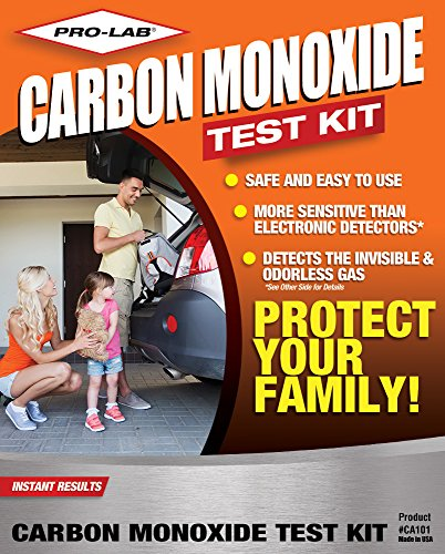 PRO-LAB Carbon Monoxide Test Kit CA101