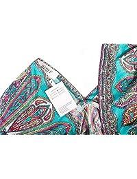 QLFAN CA Apparelsales Womens Vintage Tunic V-neck Dress Beach Cover-up