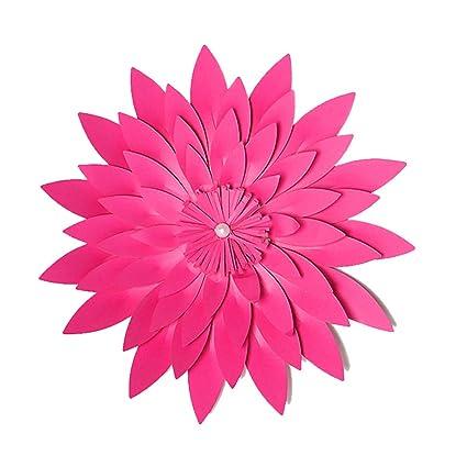 Amazon Bestoyard 3d Paper Flower Wall Decor Artificial Paper