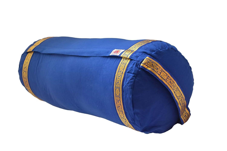 Amazon.com : Yoga United Yoga Bolster - Dark Blue : Sports ...