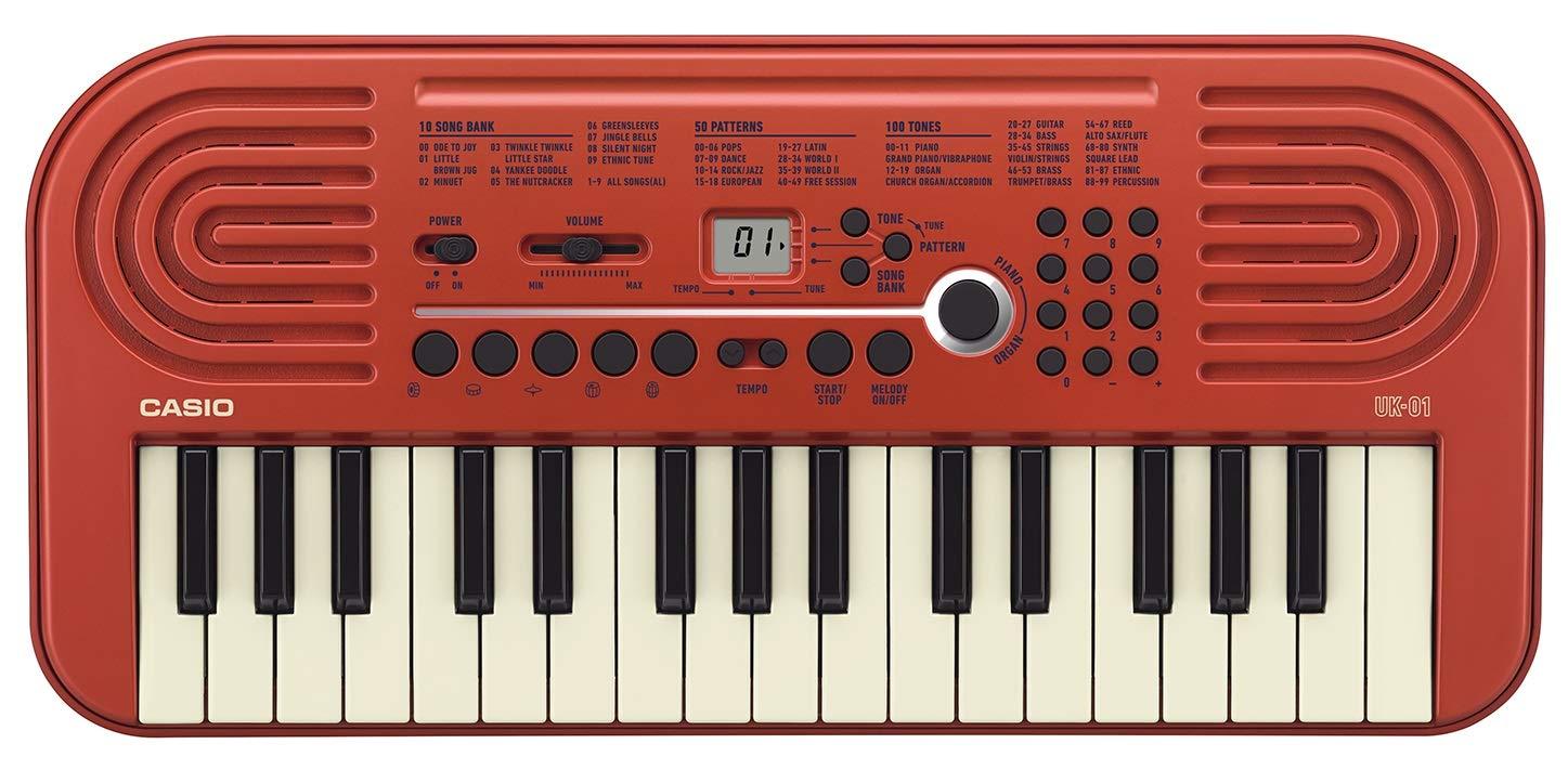 CASIO 32ミニ鍵盤 電子キーボード UK-01