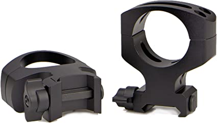 Amazon Com Warne Scope Mounts A417lm 30mm Msr Qd 2 Piece Matte Rings Sports Outdoors