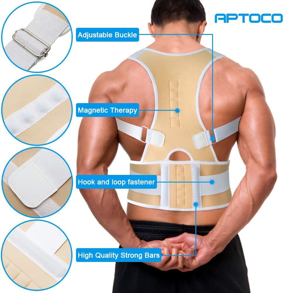 G-Smart - Corrector de espalda, magnético, ajustable, ideal para ...