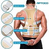 Back Brace,Aptoco Adjustable Magnetic Back