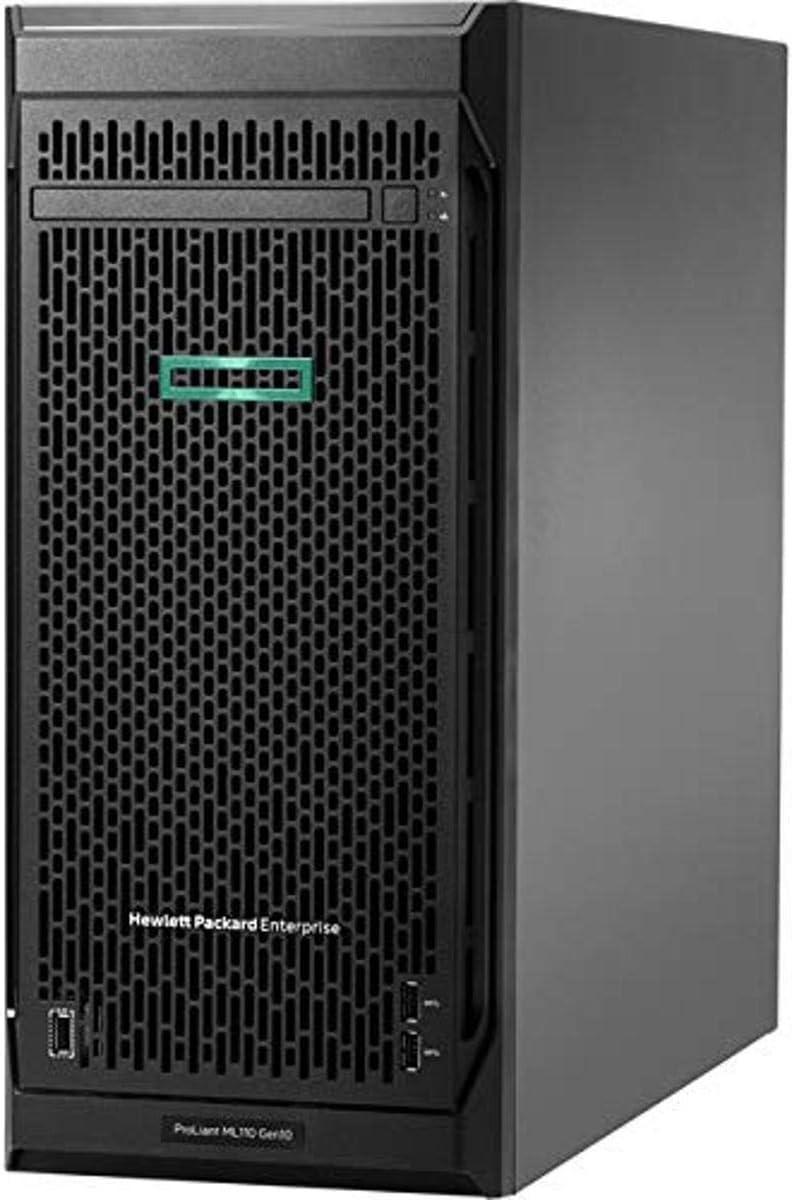 Hewlett Packard Enterprise HPE ProLiant ML110 G10 4.5U Tower Server - 1 x Xeon Silver 4210-16 GB RAM HDD SSD - Serial ATA/60