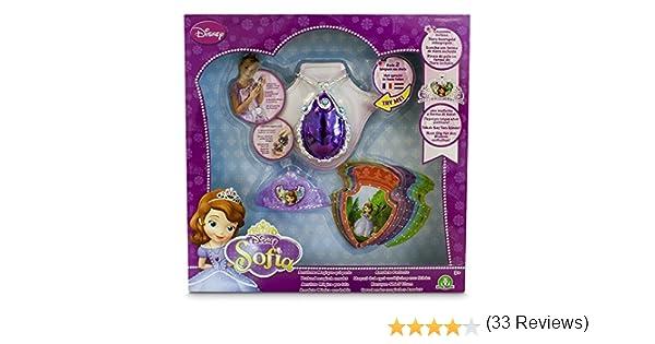 Amazon.es: Princesa Sofía - Amuleto mágico, Mini Tiara y 8 ...
