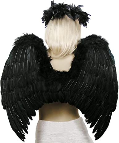 Hot Angel Feather Wings Cosplay Suits Christmas Fancy Dress Costume Event TM