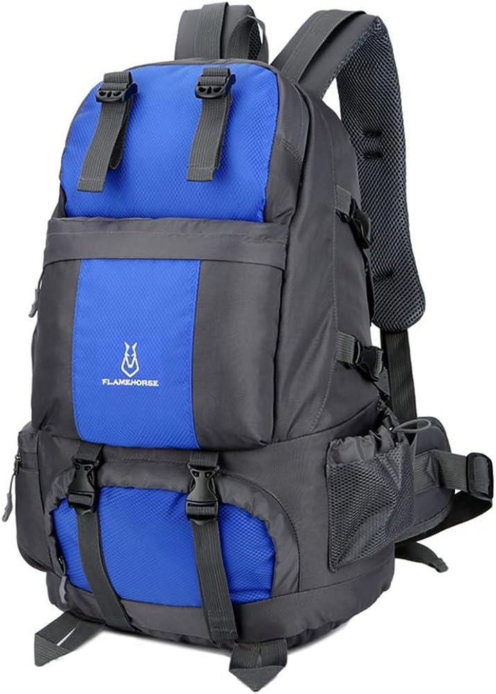 Lixada 50L Internal Frame Backpack,Waterproof Durable Hiking Travel Sport Climbing Camping Daypack Bag