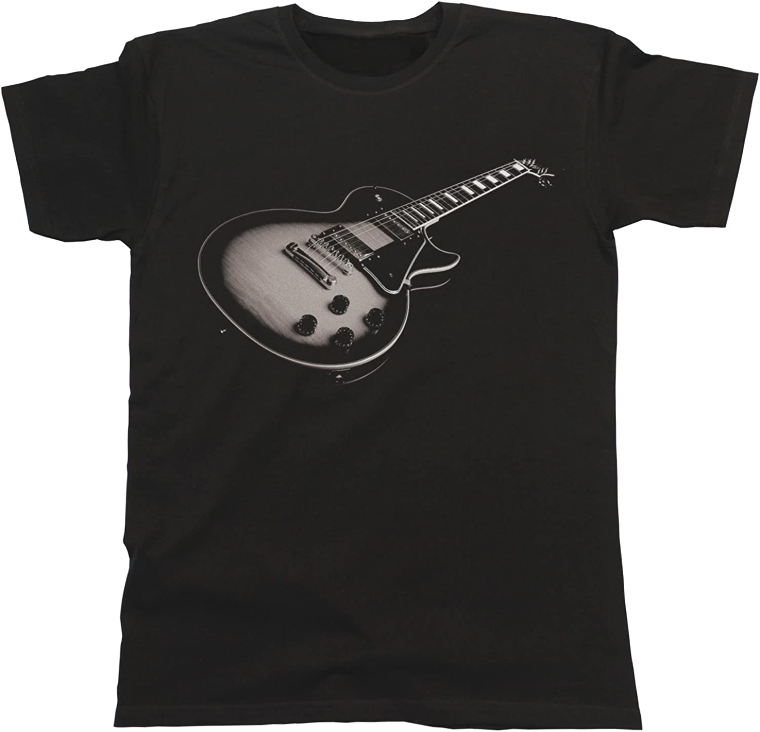 Jonny Cotton Electric Guitar Unisexo Fit T-Shirt para Hombre y ...