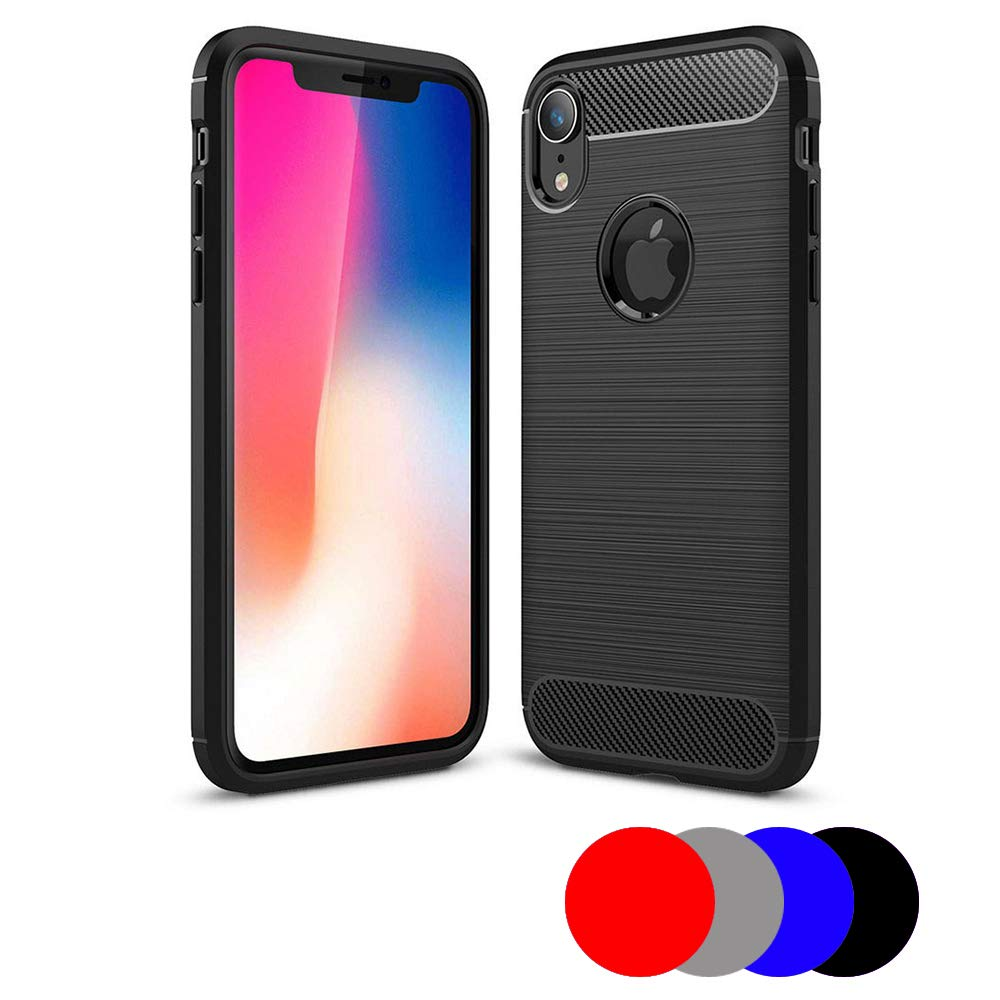 Lapinette Cover Gel per Apple iPhone XS Max Rosso