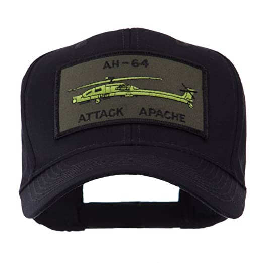 8f9273fa US Army Embroidered Military Patch Cap - Apache OSFM Black at Amazon Men's  Clothing store: Baseball Caps