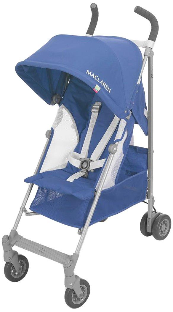 Maclaren N.A. Globetrotter Stroller, Medieval Blue/White WD1G110342