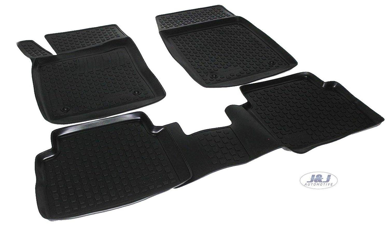 Tapis DE Sol en Caoutchouc 3D Exclusive Compatible avec Opel Insignia 2008-2016 4pcs J/&J AUTOMOTIVE