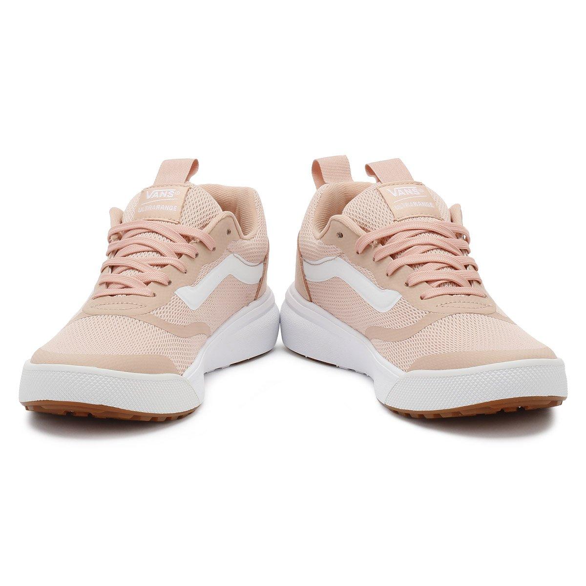 f140ee769 Vans Mujer Rose Cloud Rosa Ultrarange Zapatillas  Amazon.es  Zapatos y  complementos
