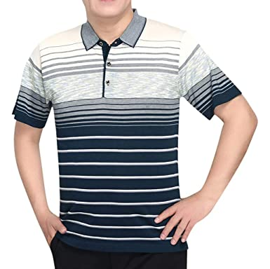 Camisetas de Manga Cortas para Hombre con Cuello Redondo Camiseta ...