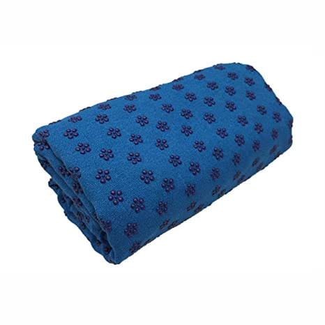 Amazon.com : Non Slip Hot Yoga Pilates Mat Cover Towel ...