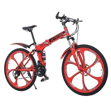 ALTRUISM Bicicleta de montaña Plegable de 26 Pulgadas, 21 ...