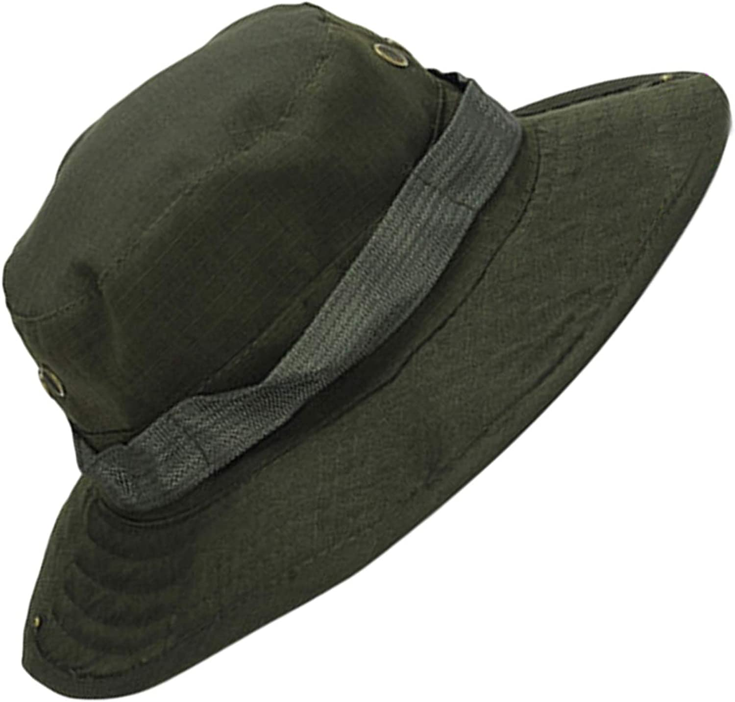 Fashion Men Women Round Boonie Hats Optional Colors Camouflage Caps Outdoor Camping Sun Hat