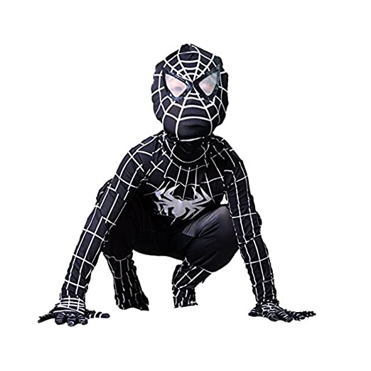 besties shop superhero costumes spiderman suit boys cosplay halloween costume kids