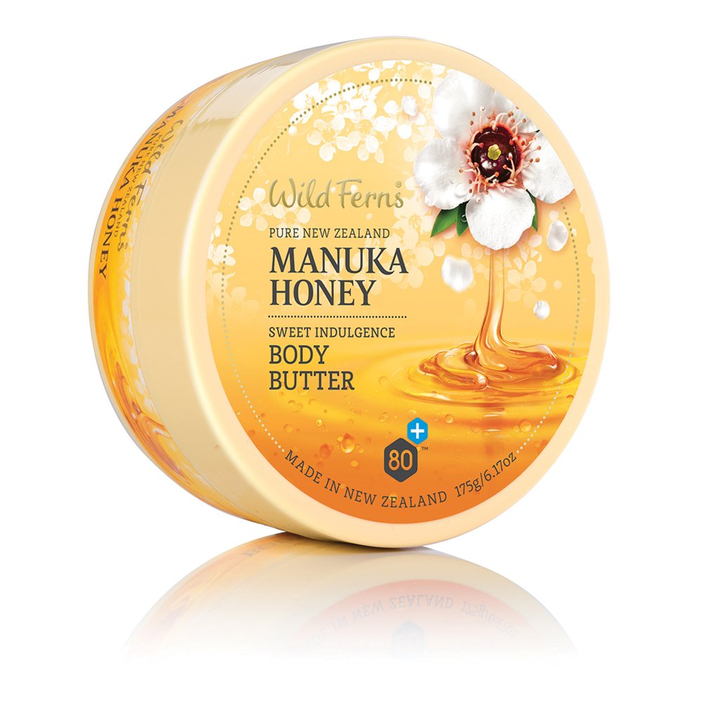 Manuka Honey Wild Ferns Sweet Indulgence Cream Body Butter