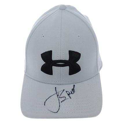 42b2fc11aa3 ... low cost jordan spieth autographed white under armour logo hat psa dna  authentication 44da6 15475