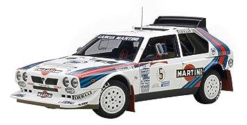 AUTOart Aa88621 Modelo Coches Lancia Delta S4 En el Puesto nº 5 Ganador Rally Argentina 1986