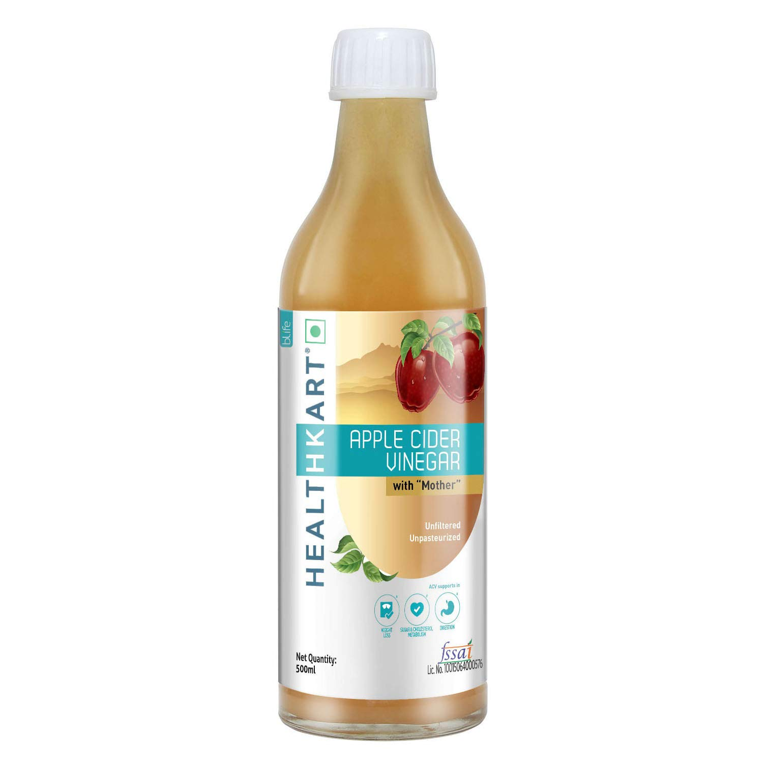 Healthkart Apple Cider Vinegar With Mother Unflavored 500ml Buy Online In Malaysia Healthkart Products In Malaysia See Prices Reviews And Free Delivery Over Rm250 Desertcart
