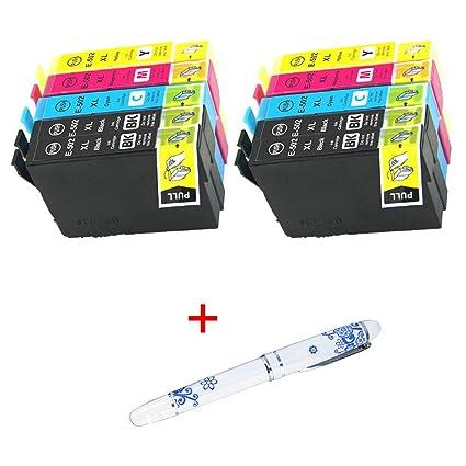 Cartuchos de Tinta 502XL 502 XL para impresoras Epson XP-5100, XP ...