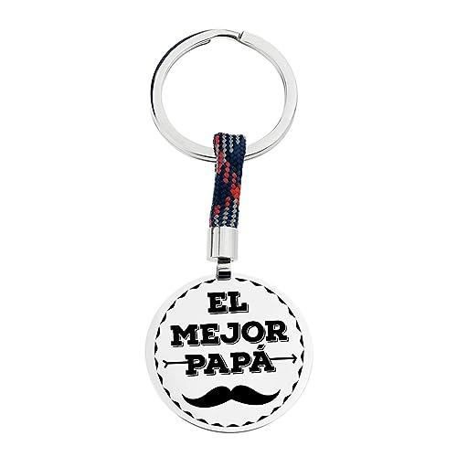 Teresa Barrio Llavero Acero Regalo Día del Padre ``EL Mejor ...