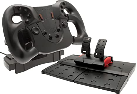 Official Sony PlayStation 4 Licensed Pace Racing Wheel (PS4