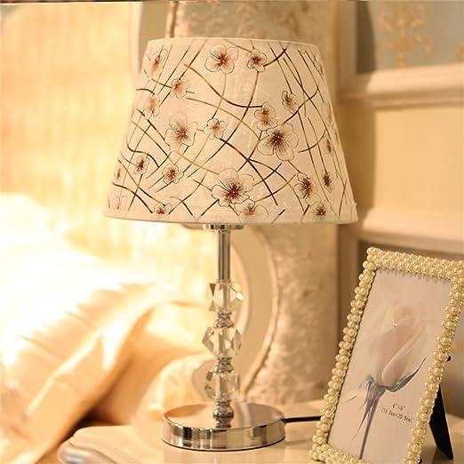 2 opinioni per HOME UK-Moderno cristallo di modo lampada da letto comodino lampada da tavolo