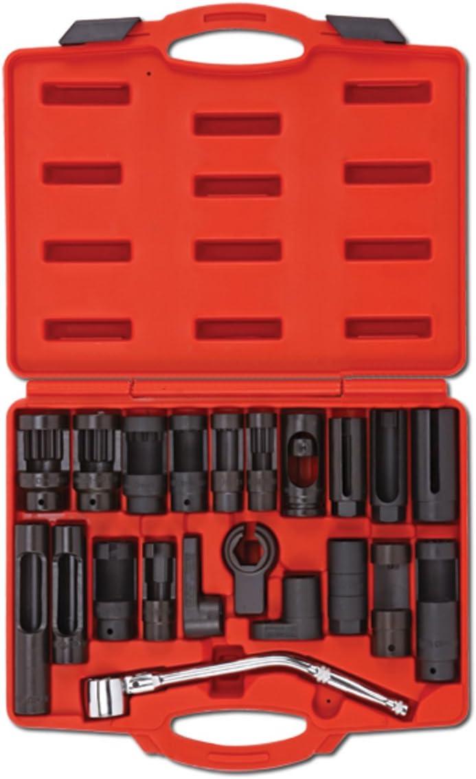 7 Pc Oxygen Sensor Socket Set Automotive Sensor /& Sending Unit Auto HD Tool Kit