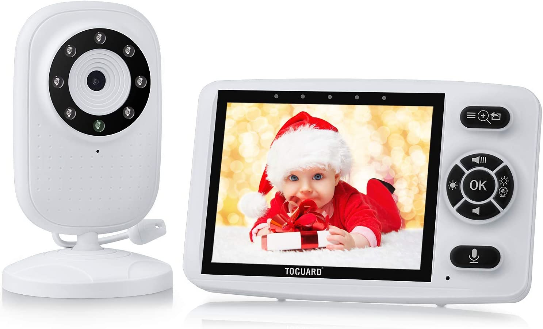 3.5/'/' Wireless HD Video Baby Monitor Night Vision Two-Way Talk LCD Display UK