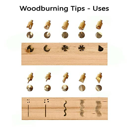Amazon dgcus premium wood burning tips and wood burning amazon dgcus premium wood burning tips and wood burning stencils includes 15 pyrography tool tips 10 soldering tips 2 plastic stencils and spiritdancerdesigns Gallery