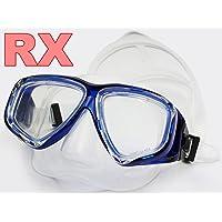 YEESAM ART Tauchermaske kurzsichtig Diving Tauch Schnorchel Maske NEARSIGHTED Verschreibung RX Sehstärke Korrekturmaßnahmen kurzsichtigen optische Schwimmbrille