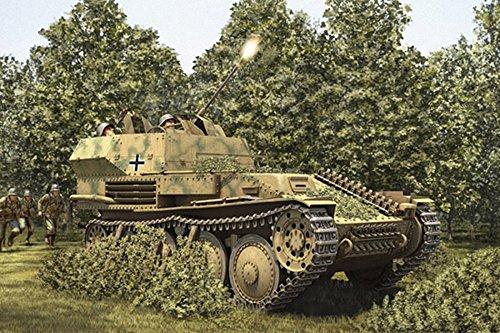 Hobby Boss German 2Cm Flak 38 Pz.Kpfw .38 (T) Armor Model Kit