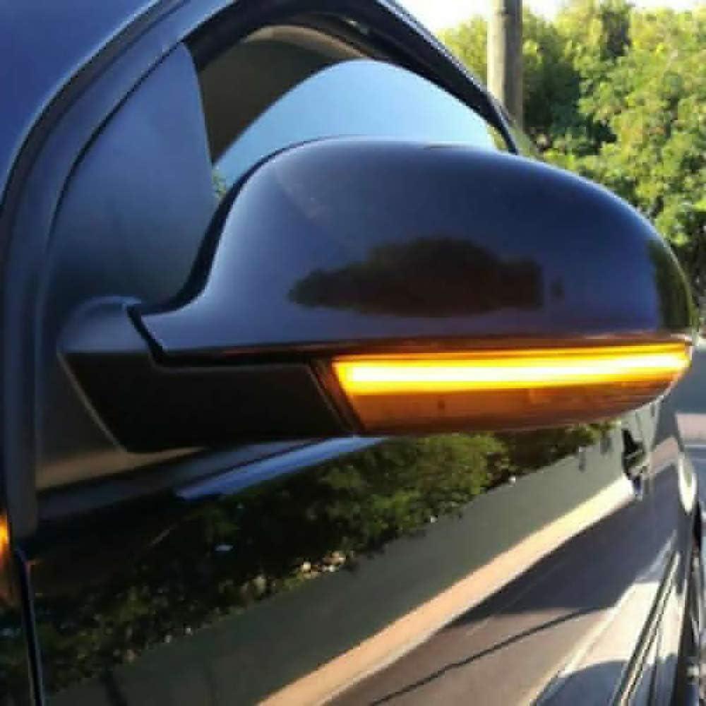 ahanzhu espejo secuencial led señal de giro luz indicadora espejo ...