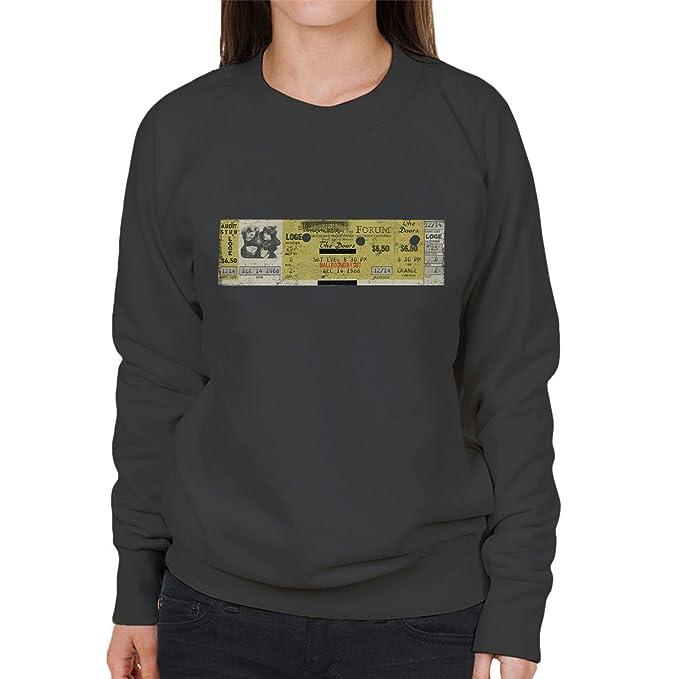 The Doors The Forum 1968 Womens Sweatshirt