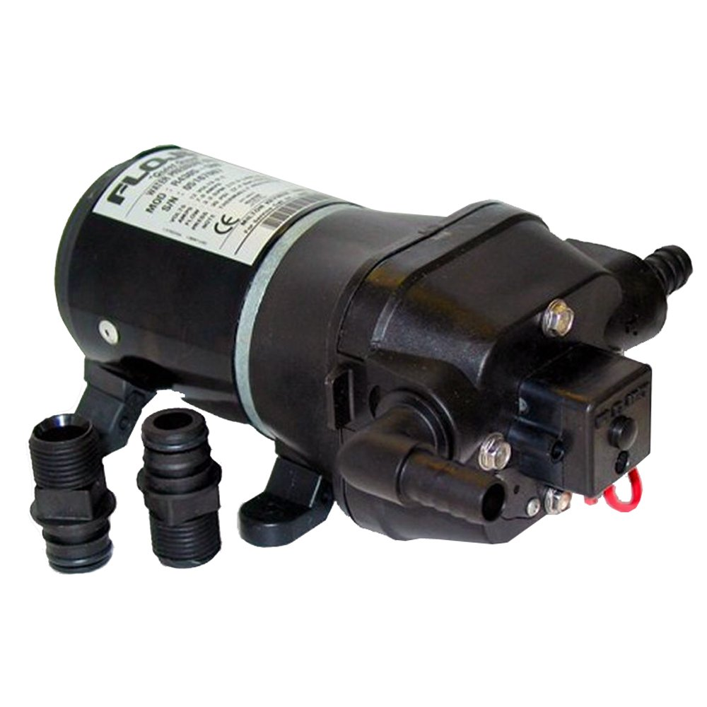FloJet Quiet Quad Water System Pump - 12VDC by Flojet