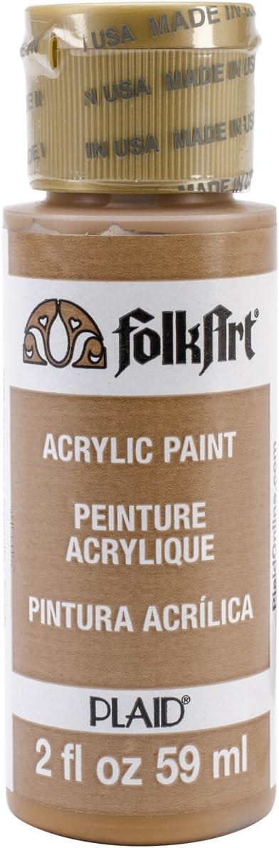 FolkArt Acrylic Paint in Assorted Colors (2 oz), 2558, Cinnamon