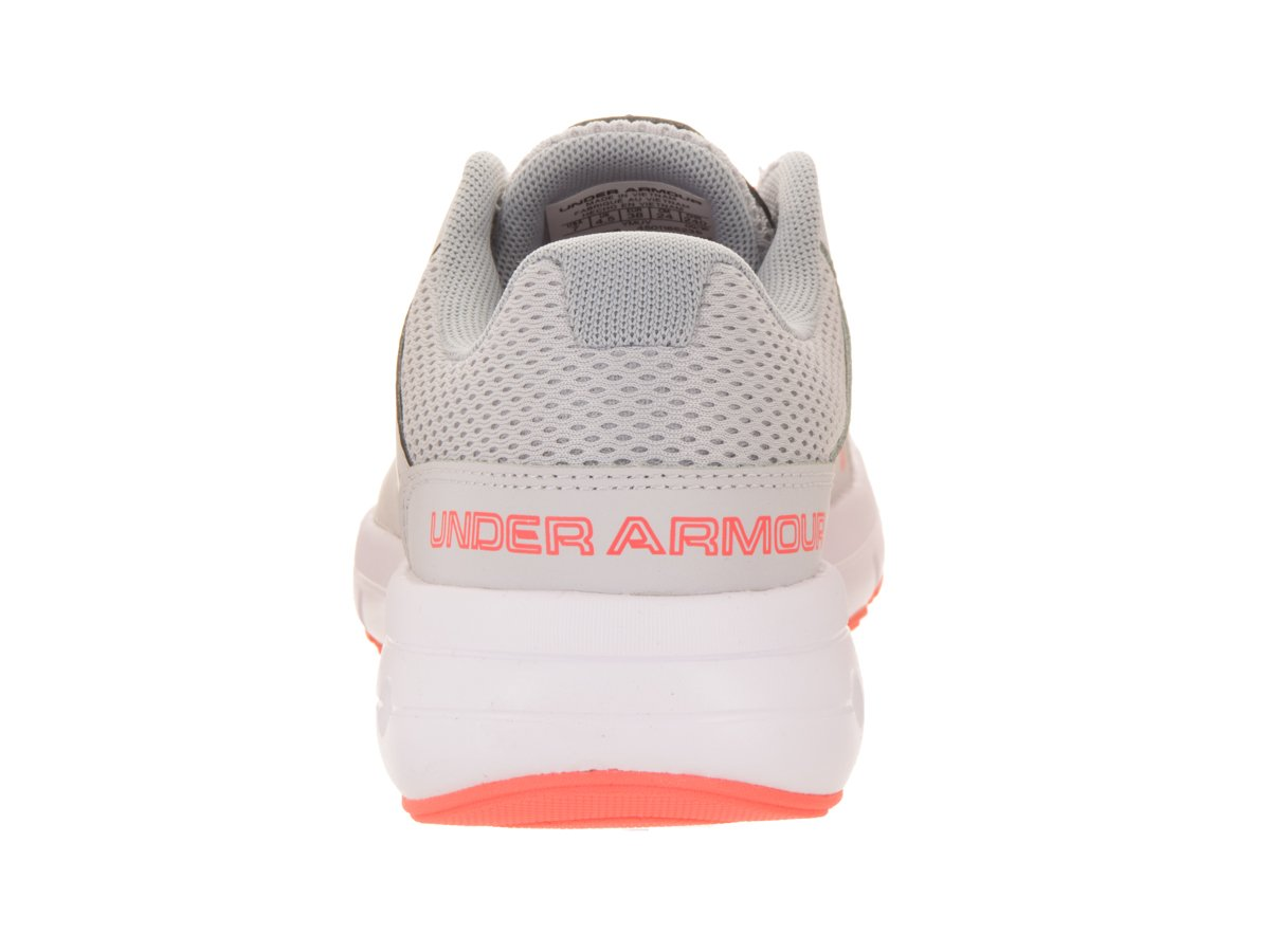 Under Armour Women's Dash 2 Running Shoe B01GPLHD6G 6 B(M) US|Glacier Gray/White/London Orange