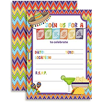 mexican fiesta invitations templates